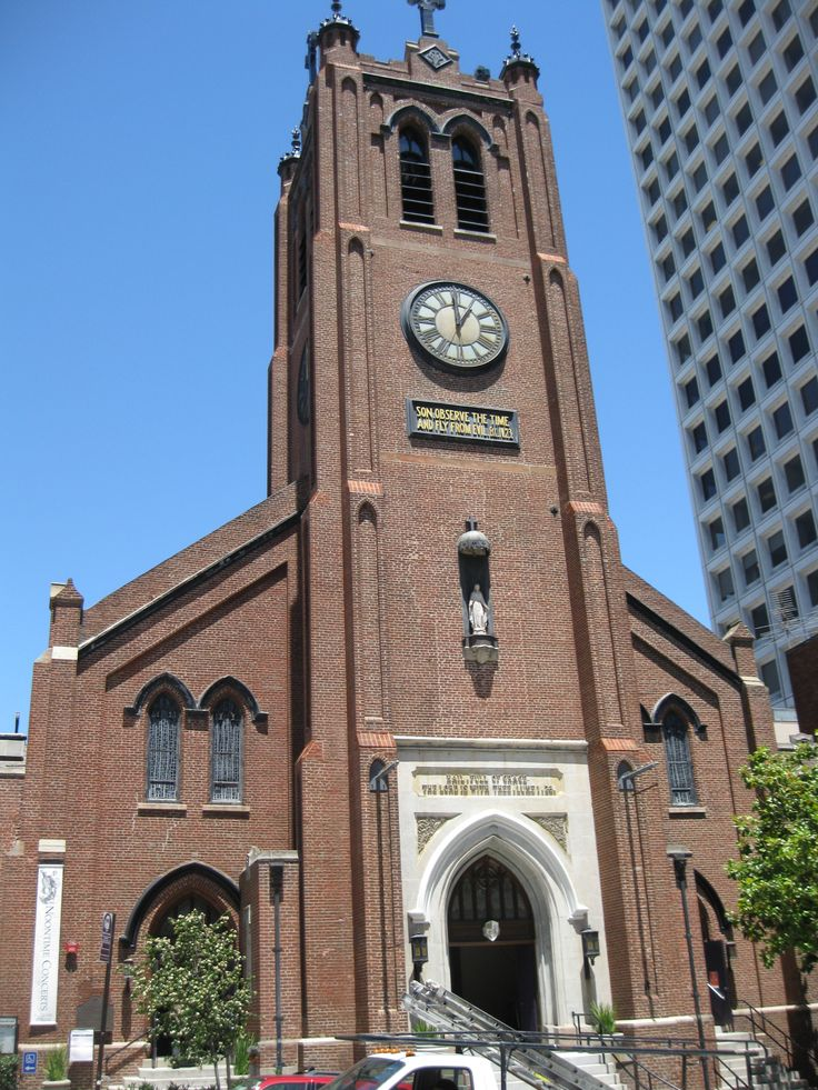California old st marys catholic cathedral in san