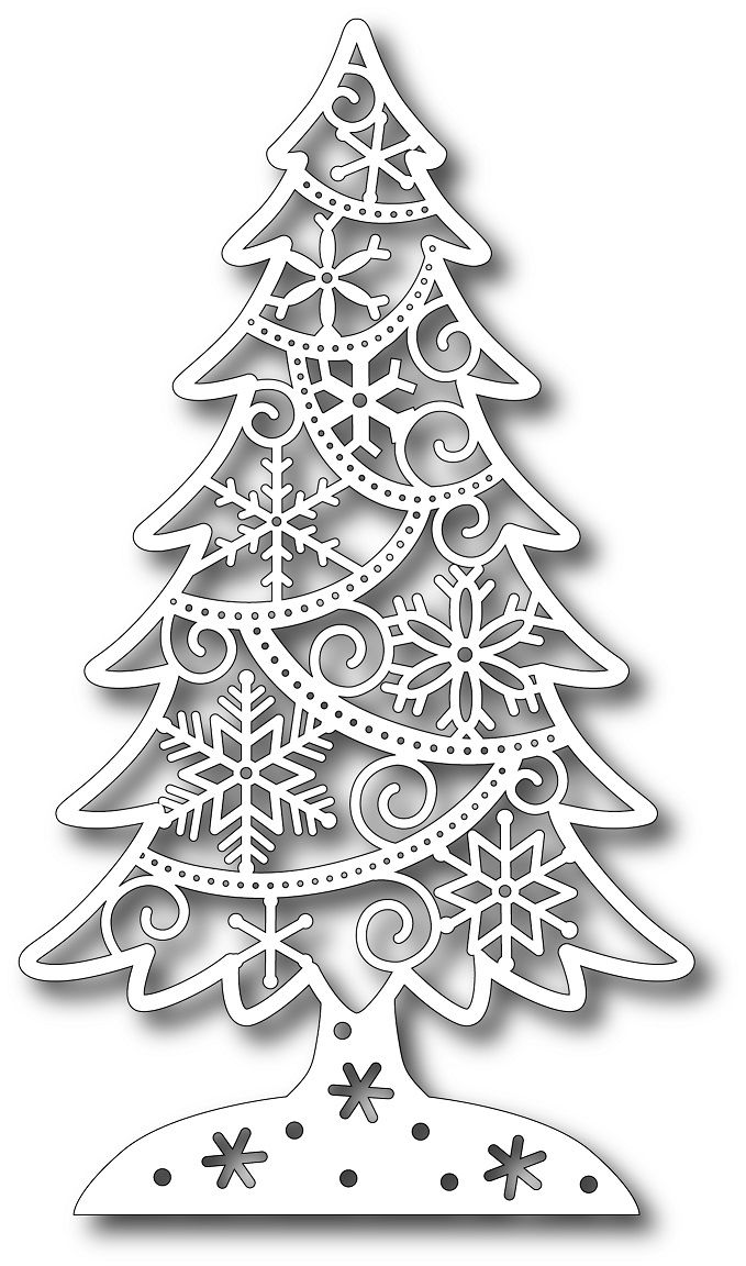 Tutti Designs - Cutting Die - Ice Crystal Fir,$11.99