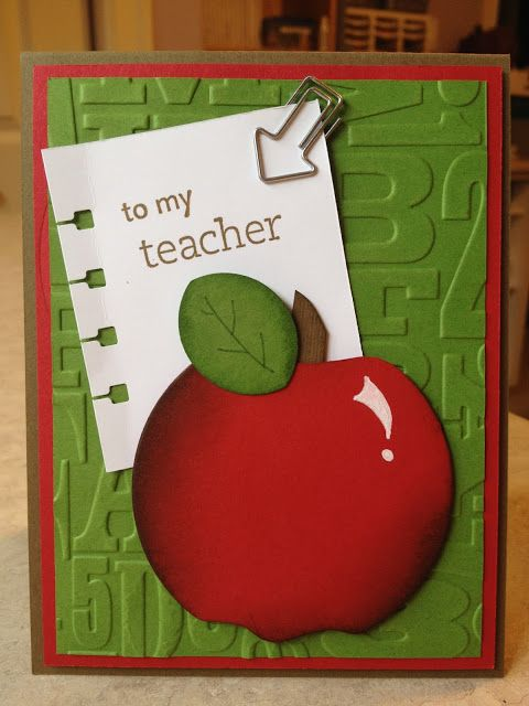 Catherine Loves Stamps: Catherine & Cathy Create: Back to School Blog Hop !! Family Reunion, Alphabet Press, Apple Punch Art