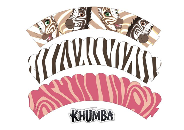 Make your own Cupcakes on #Valentines day and decorate with these fun Valentines Wrappers!  www.khumbamovie.com