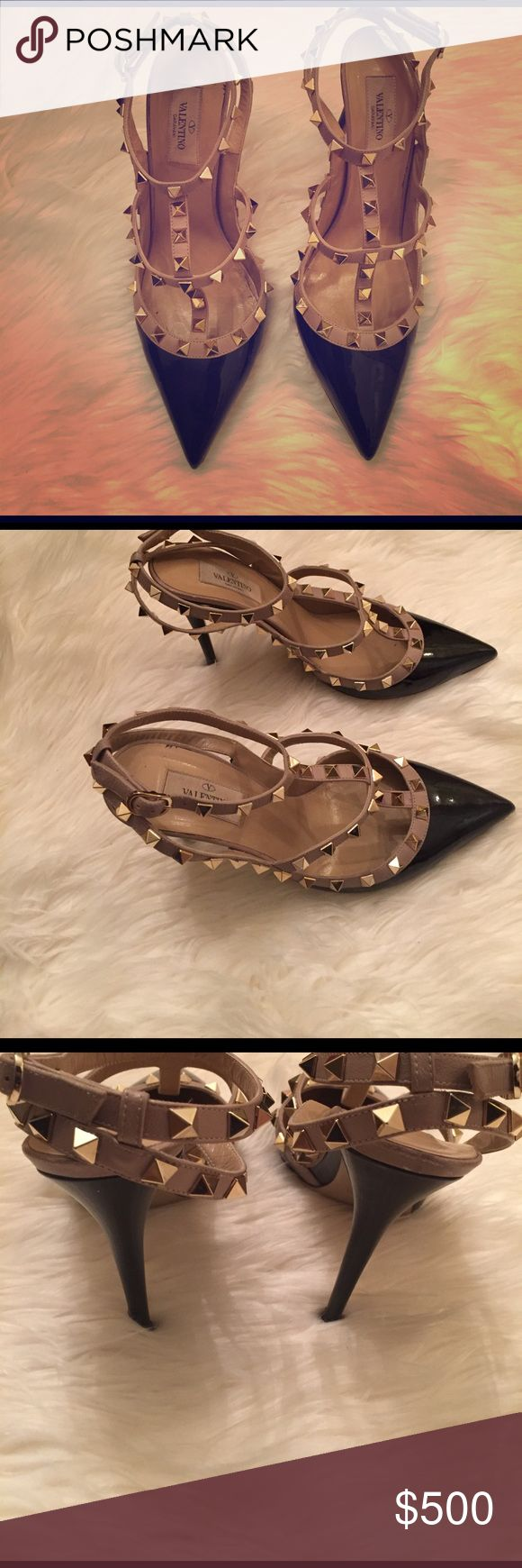 Valentino Rockstud Pumps Valentino Rockstud Pumps, in a size 39. They run small and they show some wear. They are still in good condition. Valentino Shoes Heels