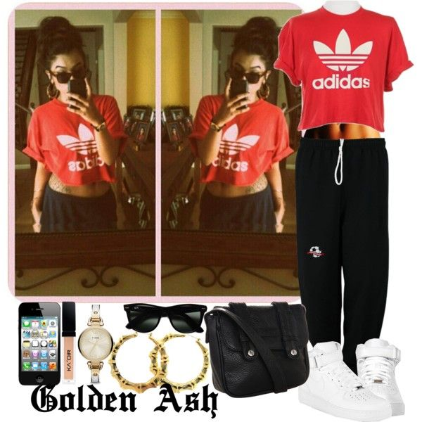 Adidas Bamboo, created by fashionsetstyler on Polyvore