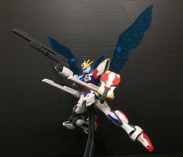 Sirrul Hadi (Singapore) Pose Name: Freedom of Speech Reason for pose: Inspired by the Freedom Gundam