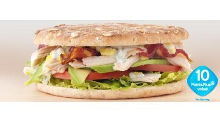 Sandwich Thins' Cobb Salad Sandwich - Weight Watchers PointsPlus ...