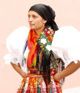 Czech Chodský kroj - Chodsko (region of Western Bohemia) folk costume