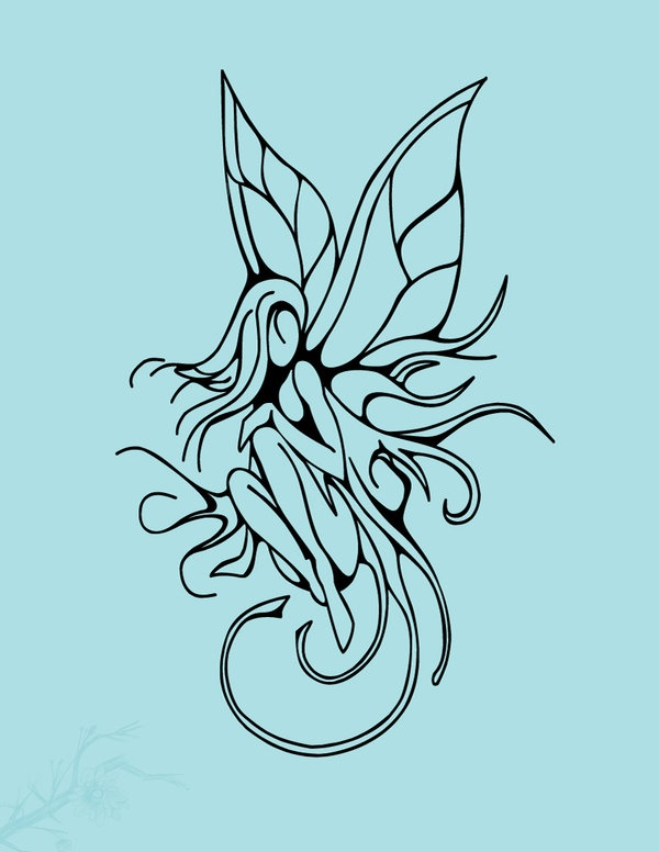 abstract fairy tattoo | Fairy Tattoo by ~vision5 on deviantART