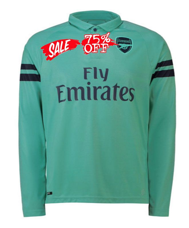 Arsenal 2018-19 Top LS Third Jersey  e62ab8d28