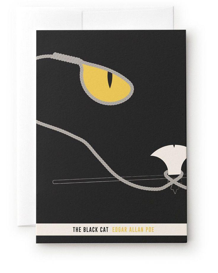 """""""BLACK CAT"""" CARD"""