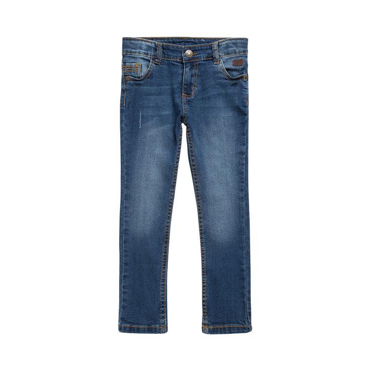 Sergent Major vous propose ce jeans garcon bleu pour les 2 à 11 ans du theme Mixmajor 1 e17 de la collection Ete