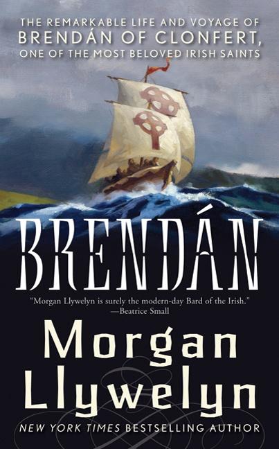 Brendan by Morgan Llywelyn. Brendan by Morgan Llywelyn. Great read. Not as much about Brendan's voyage as about the Christian life in 6th century Ireland.