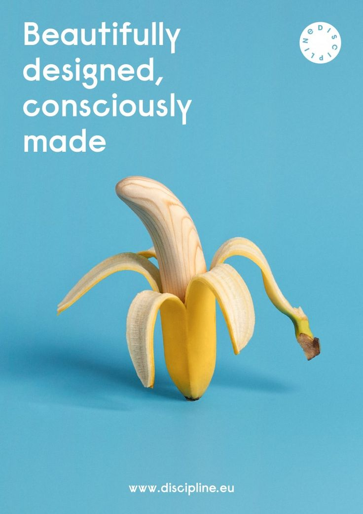 Discipline Ad Campaign  The natural materials, with the shape of fruits and vegetables, become the daily pure nourishment of Discipline design and of whose will choose and use it.