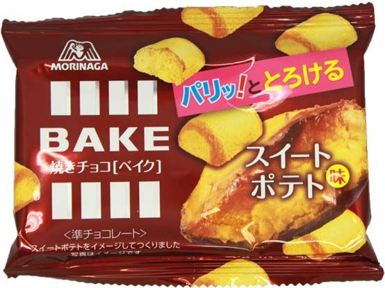 Morinaga BAKE Sweet Potato $2.00 http://thingsfromjapan.net/morinaga-bake-sweet-potato/ #bake sweet potato #japanese cookies #Japanese snack
