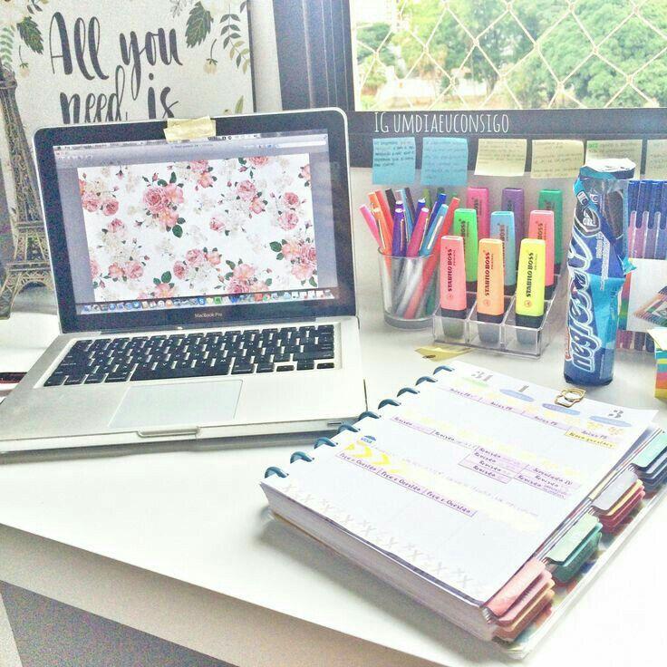 Estudar, colorir, marcar!