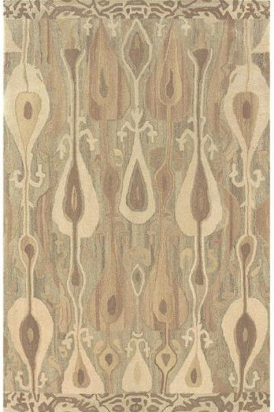 Beautiful Beige Hand Tufted Rug TTP-551
