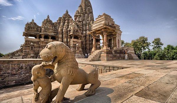 Rajput Chandela Dynasty architecture in Khajuraho