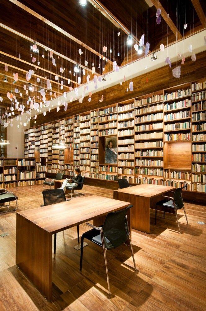 Jaime GarcíaTerrés Library Architects: arquitectura 911sc Location: Ciudad de Mexico, D.F., Mexico Area: 170 sqm