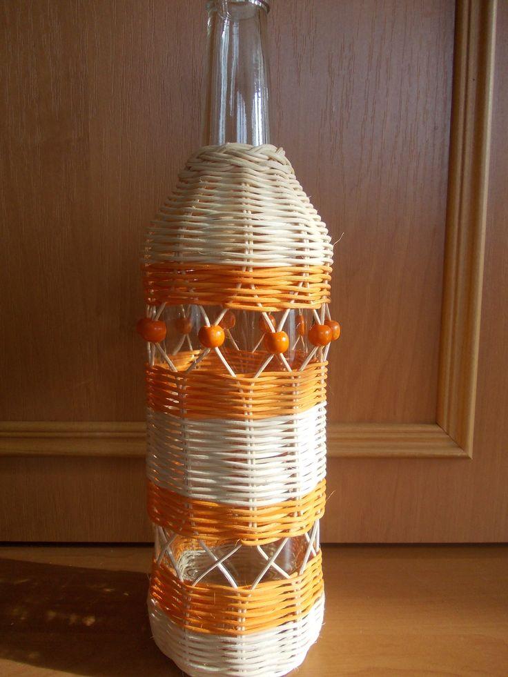oranžová flaška