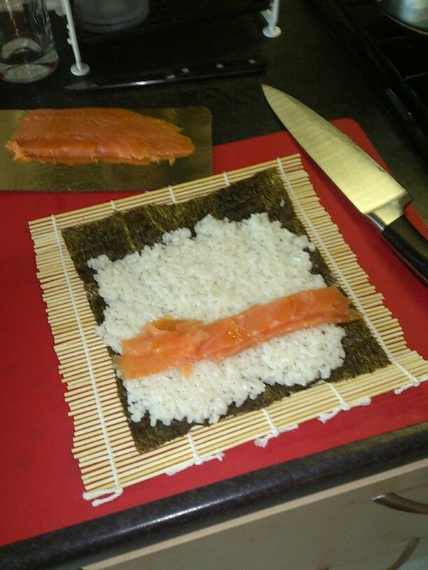 Sushi time, nom nom