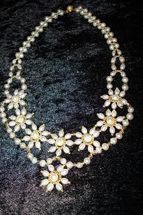 Necklace of sweetwaterpearls