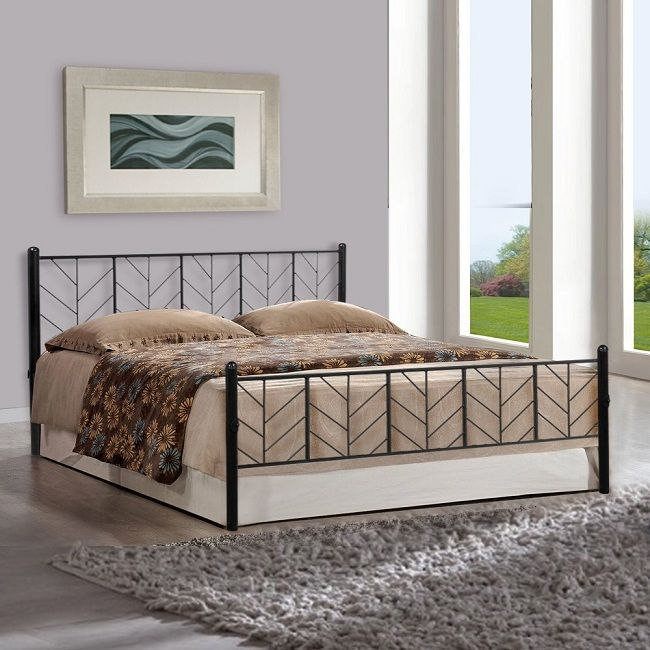 10 Modern Metal Bed Designs With Photos In 2020 Styles At Life Steel Bed Design Bed Design Metal Beds