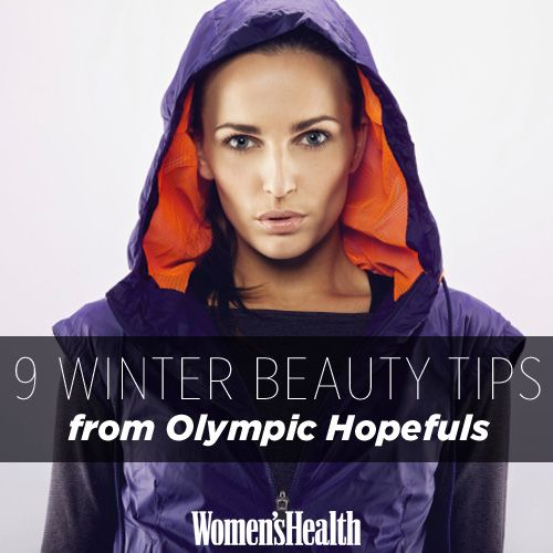 Ever wonder how winter Olympic athletes beat winter skin and other cold-weather beauty nightmares? Get their best beauty tips here: http://www.womenshealthmag.com/beauty/winter-beauty-tips?cm_mmc=Pinterest-_-womenshealth-_-content-beauty-_-winterbeautytipsfromolympians
