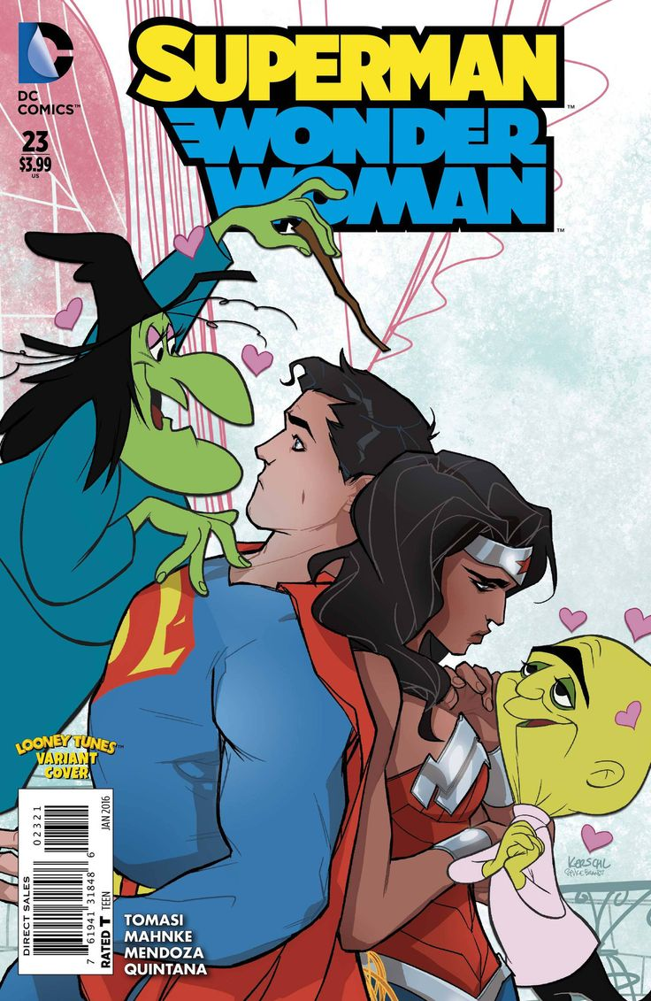 superman and wonder woman hook up In it lois lane dies and eventually superman and wonder woman hook up and have a son dc ran a weekly year long comic a couple of years ago called 52.