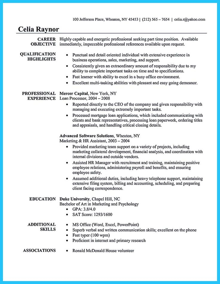 Best 25+ Administrative assistant resume ideas on Pinterest - loan officer job description for resume