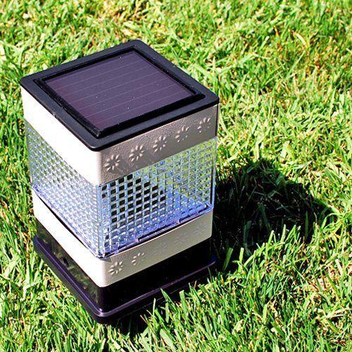 Black Led Solar Powered 5 Ft Traditional Garden Lamp Post: Best 25+ Steel Fence Posts Ideas On Pinterest