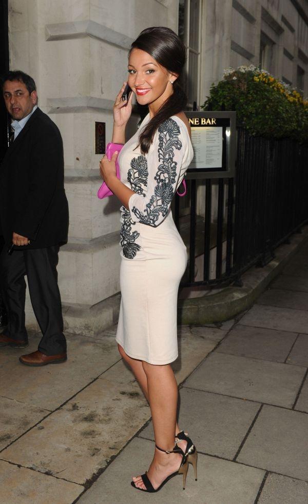 Michelle Keegan - booty @ Lipsy VIP Fashion Awards 2013 at DSTRKT London