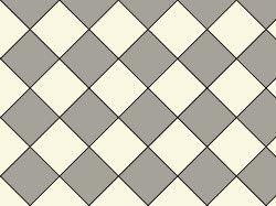 Original Style Oxford Victorian Tile Design - Grey/Dover White