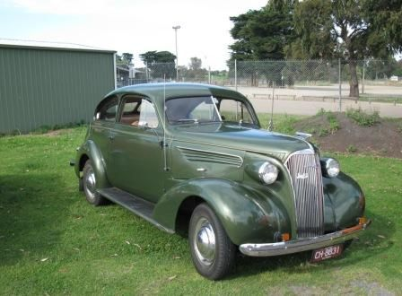 1937 Holdens body Chev Master Deluxe Sloper.