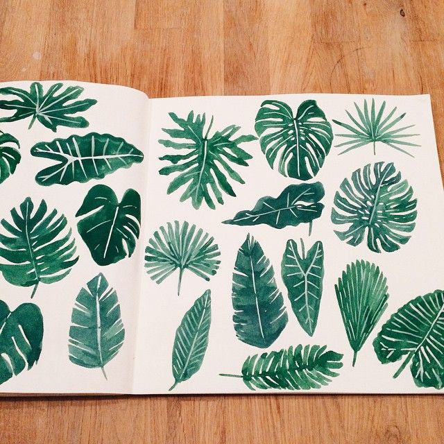 if u feel weird just draw some leaves