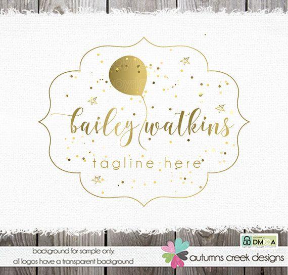 logo design logo premade palloncino logo fotografia logo