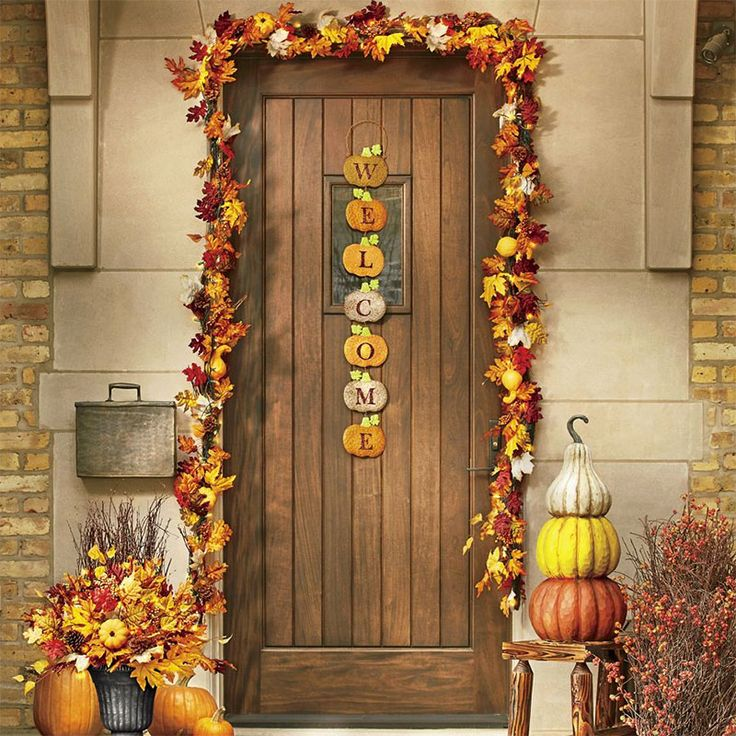 Welcome guests in seasonal style with a welcome sign that celebrates the season. Have a & 28 best Fall Outdoor Décor by Country Door images on Pinterest Pezcame.Com