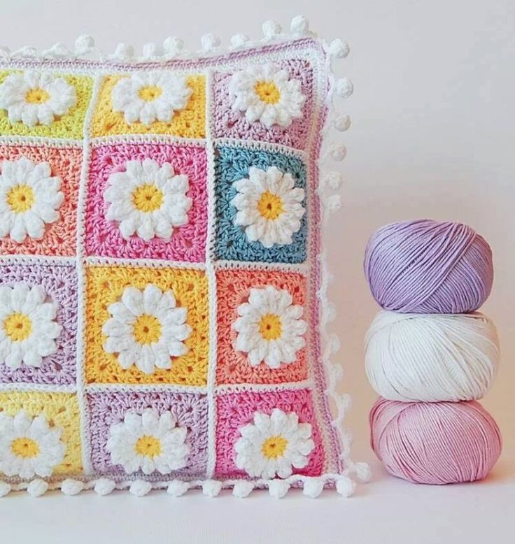 I am making a baby blanket with this pattern for a Co-worker