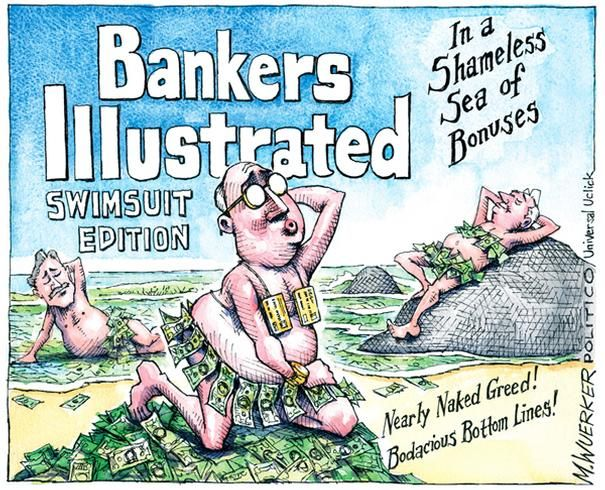 Political Cartoons: Bankers Illustrated - 3 of 20 - POLITICO.com