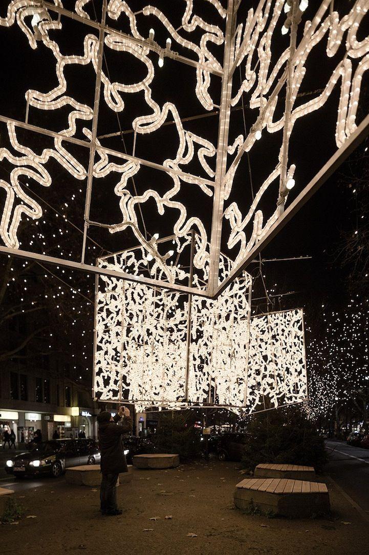 Berlin's Dazzling Christmas Light Installations - My Modern Metropolis