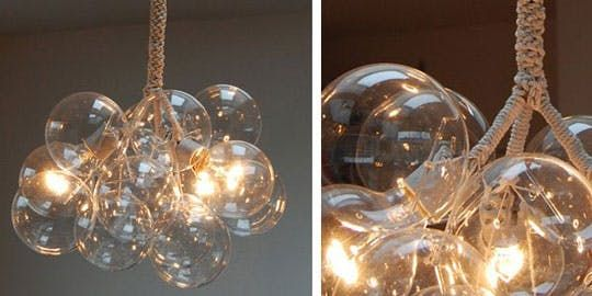 How to: Make a Bubble Chandelier | Apartment Therapy