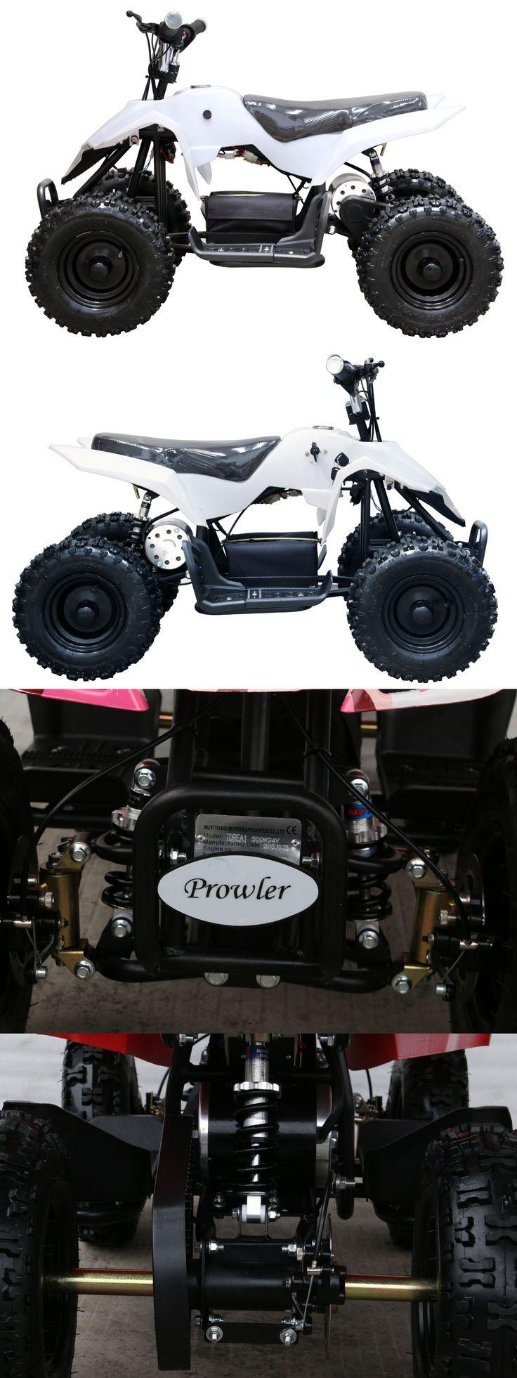 Complete Go-Karts and Frames 64656: 500W Electric Atv Quad Bike Kids 4 Wheeler Dirt Buggy Pocket Bike BUY IT NOW ONLY: $535.99