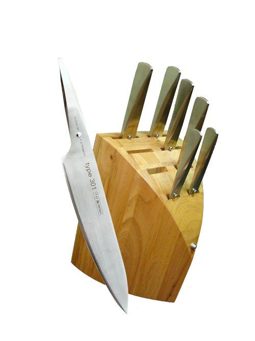 CHEFS modern knife sets @ chefdepot.com/porsche.htm
