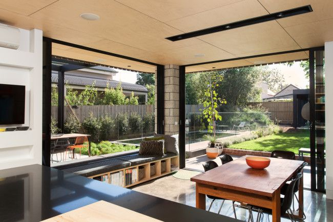 A prefab home extension in Melbourne that's simply prefabulous! - Designhunter - Sustainable Architecture with Warmth & Texture
