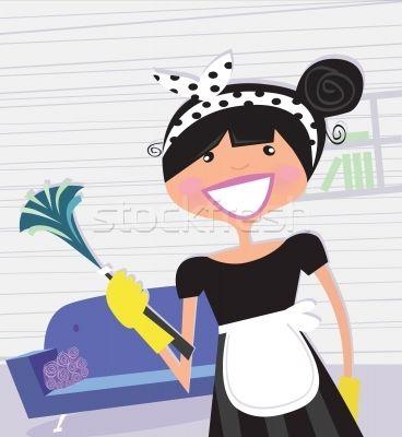 Housewife – French Maid  - ilustração de vetor por lordalea - Stockfresh #334422