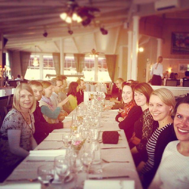 Ritz Winter Hop prep team thank you dinner #ritzlindyhoppers #ritzwinterhop
