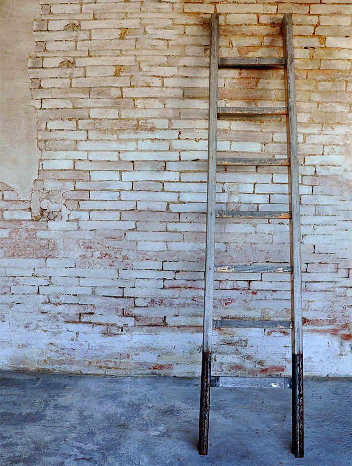 Interior design recupero vecchia scala con pioli interamente in legno ...