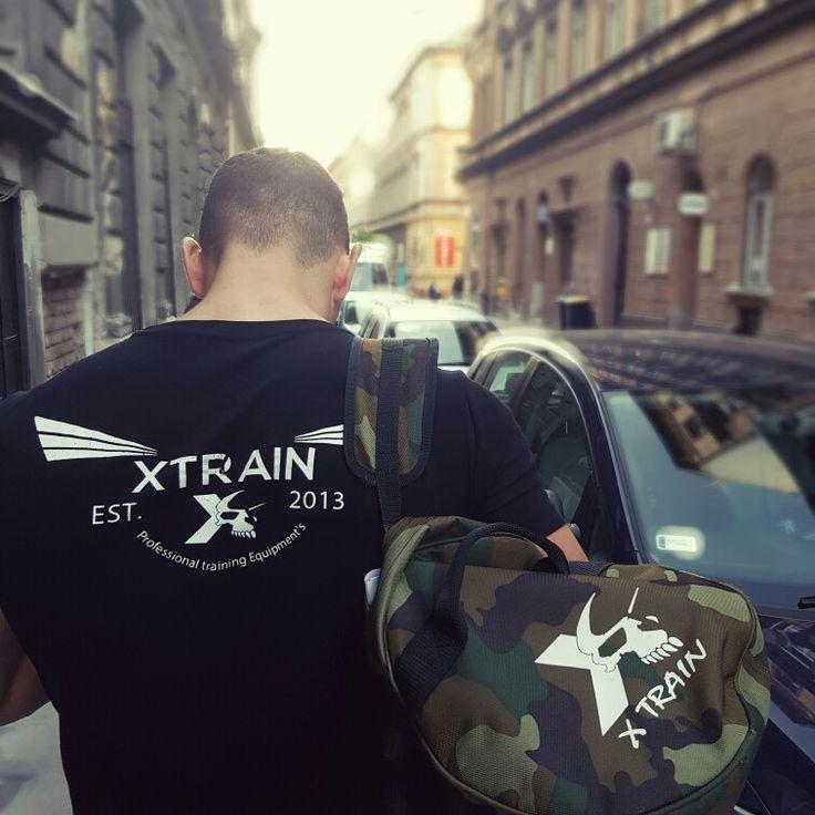 Xtrain style sport táska, training bag, póló.
