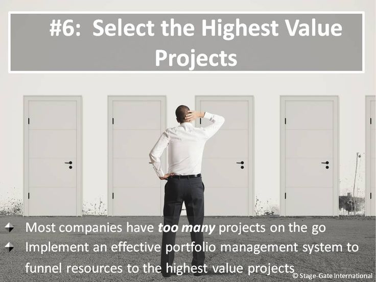 Lean and Agile Stage-Gate®: Tip #6  For more innovation best practices www.stage-gate.com