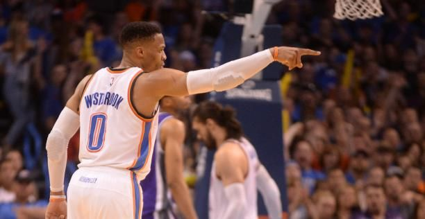 Oklahoma City Thunder | Bleacher Report: Russ Leads Thunder Past Kings Without Triple-Double #basketball