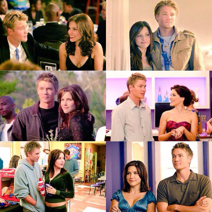 Brooke and Lucas through the years. From friends to lovers to friends. ♥ #OneTreeHill #Brucas