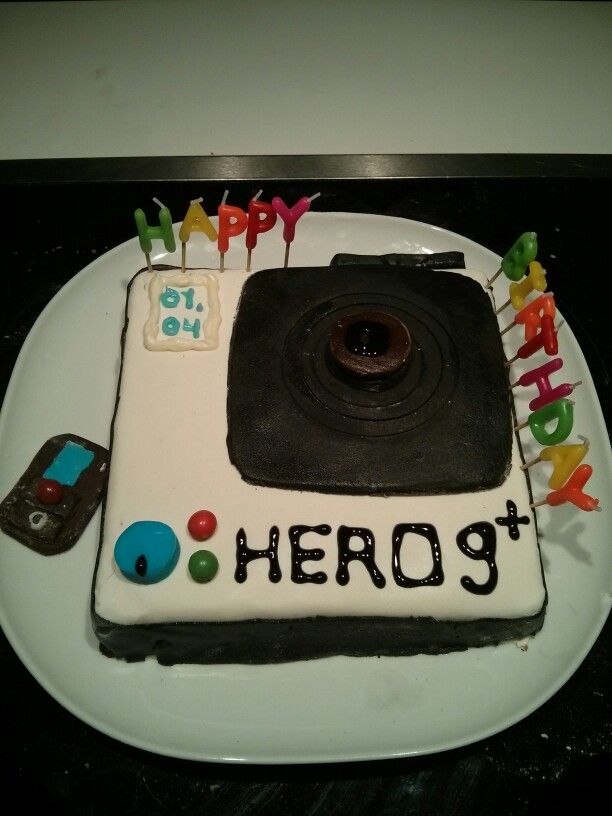 Gopro for 9th birthday