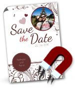 Save the Date Magnetkarten